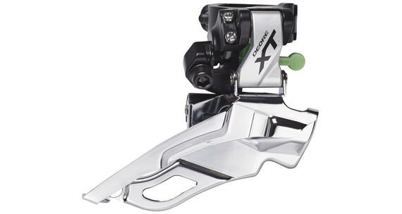 Shimano Deore XT FD-M781 Przerzutka przednia 3-prędkości Dyna-Sys srebrny